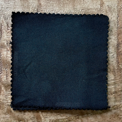True-to-Color Swatch, Taken Under Natural Sunlight on a 100% Color Sample Square of Dharma Trading Co. Limited Edition, Discontinued Fiber Reactive Dye in Color Hunter Green