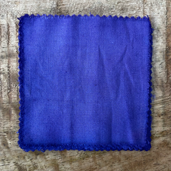 True-to-Color Swatch, Taken Under Natural Sunlight on a 100% Color Sample Square of Dharma Trading Co. Procion Fiber Reactive Dye in Color Lavender