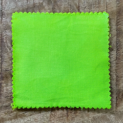 True-to-Color Swatch in Natural Light of Dharma Trading Co. Procion Fiber Reactive Dye in Color Lime Pop