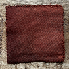 A True-to-Color Swatch, Taken Under Natural Sunlight on a 100% Color Sample Square of Dharma Trading Co. Procion Fiber Reactive Dye in Discontinued, Special Order Only Color Mars Dust