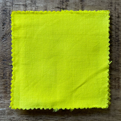 True-to-Color Swatch in Natural Light of Dharma Trading Co. Procion Fiber Reactive Dye in Color Melted Peep