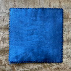 A True-to-Color Swatch, Taken Under Natural Sunlight on a 100% Color Sample Square of Dharma Trading Co. Procion Fiber Reactive Dye in Discontinued, Special Order Only Color Mom Jeans