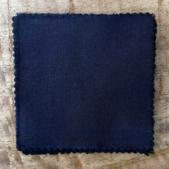 A True-to-Color Swatch, Taken Under Natural Sunlight on a 100% Color Sample Square of Dharma Trading Co. Procion Fiber Reactive Dye in the New, Reformulated Version of Color Gunmetal Gray