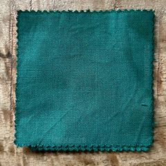 True-to-Color Swatch, Taken Under Natural Sunlight on a 100% Color Sample Square of Dharma Trading Co. Procion Fiber Reactive Dye in the New, Reformulated Version of Color Seaglass