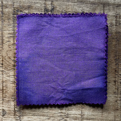 A True-to-Color Swatch, Taken Under Natural Sunlight on a 100% Color Sample Square of Dharma Trading Co. Procion Fiber Reactive Dye in Color Orchid