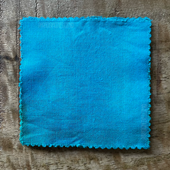 True-to-Color Swatch, Taken Under Natural Sunlight on a 100% Color Sample Square of Dharma Trading Co. Procion Fiber Reactive Dye in Color Parakeet