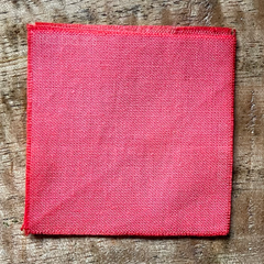 True-to-Color Swatch, Taken Under Natural Sunlight on a 100% Color Sample Square of Dharma Trading Co. Procion Fiber Reactive Dye in Color Peach Blush
