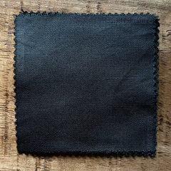 A True-to-Color Swatch, Taken Under Natural Sunlight on a 100% Color Sample Square of Dharma Trading Co. Procion Fiber Reactive Dye in Color Pewter