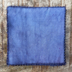 A True-to-Color Swatch, Taken Under Natural Sunlight on a 100% Color Sample Square of Dharma Trading Co. Procion Fiber Reactive Dye in the New, Reformulated Version of Color Mist Gray