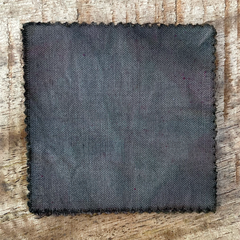 A True-to-Color Swatch, Taken Under Natural Sunlight on a 100% Color Sample Square of Dharma Trading Co. Procion Fiber Reactive Dye in the Original, Pre-2020 Formulation of Color Safari Gray