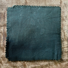 True-to-Color Swatch, Taken Under Natural Sunlight on a 100% Color Sample Square of Dharma Trading Co. Procion Fiber Reactive Dye in Color Sage Green