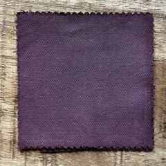 A True-to-Color Swatch, Taken Under Natural Sunlight on a 100% Color Sample Square of Dharma Trading Co. Procion Fiber Reactive Dye in Color Shiitake Mushroom