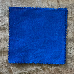 A True-to-Color Swatch, Taken Under Natural Sunlight on a 100% Color Sample Square of Dharma Trading Co. Procion Fiber Reactive Dye in Color Sky Blue