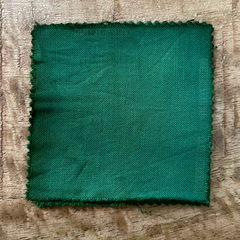 True-to-Color Swatch, Taken Under Natural Sunlight on a 100% Color Sample Square of Dharma Trading Co. Procion Fiber Reactive Dye in Color Wasabi