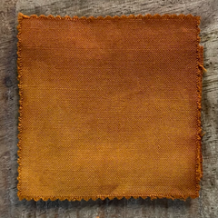 A True-to-Color Swatch, Taken Under Natural Sunlight on a 100% Color Sample Square of Dharma Trading Co. Discontinued Fiber Reactive Dye in Color Wisconsin Camo