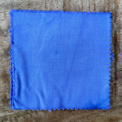 True-to-Color Swatch, Taken Under Natural Sunlight on a 100% Color Sample Square of Dharma Trading Co. Procion Fiber Reactive Dye in Color Wisteria