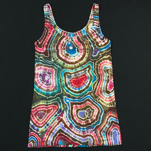 Women's Small Old Navy Geode Tie Dye Tank Top