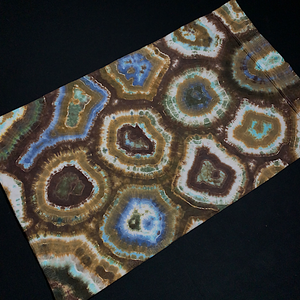Standard/Queen Natural Agate Geode Tie Dye Pillowcase