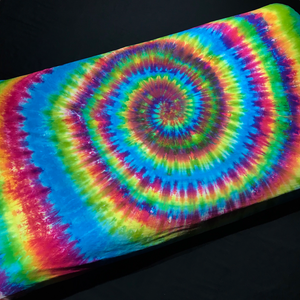 Custom Made Rainbow Spiral Tie Dye Fitted Sheet
