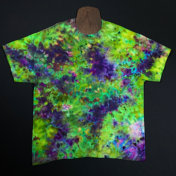 Purple Urkle Marijuana Bud Inspired Ice Dye T-Shirt (Sizes SM-3XL)