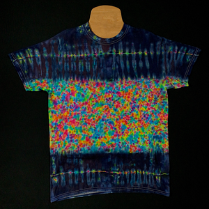 Size Medium Kaleidosplat Rainbow Tie Dye T-Shirt