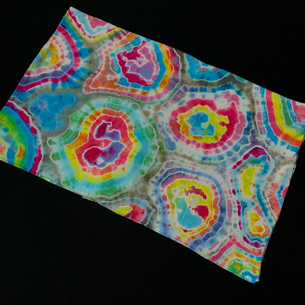 "Toddler/Travel Pastel Geode Tie Dye Pillowcase | 13"" x 19"""