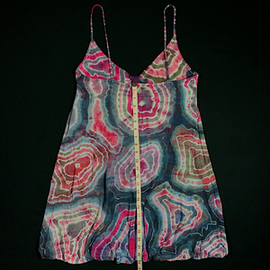 Women's Size 10 Geode Tie Dye Dress *DEFECT*