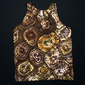 Size Large American Apparel Earthy Agate Geode Tank Top