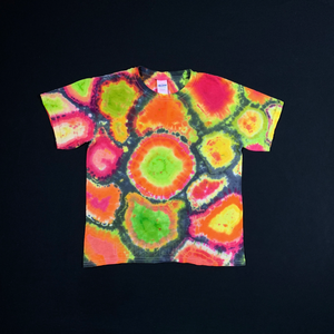 Youth Small Watermelon Geode Slice Tie Dye T-Shirt