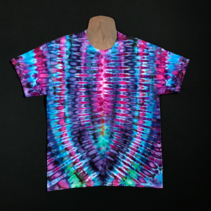 Size Large Psychedelic Symmetry Tie Dye T-Shirt