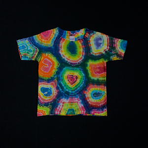 Toddler 5T Rainbow Geode Tie Dye T-Shirt