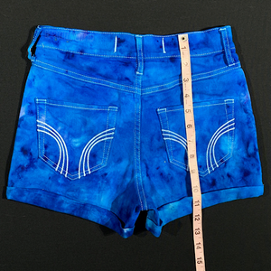 Size 1 Hollister High Waisted Denim Ice Dye Shorts