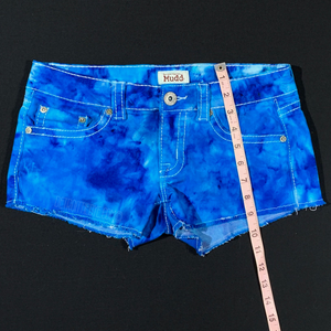 Women's 7 Tie Dye Denim Shorts