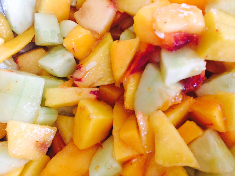 Fruit Salad with a spicy twist