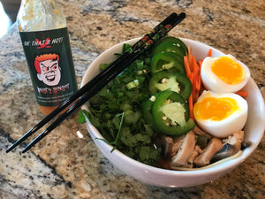 Slow Cooker Ramen with Angry Ginger