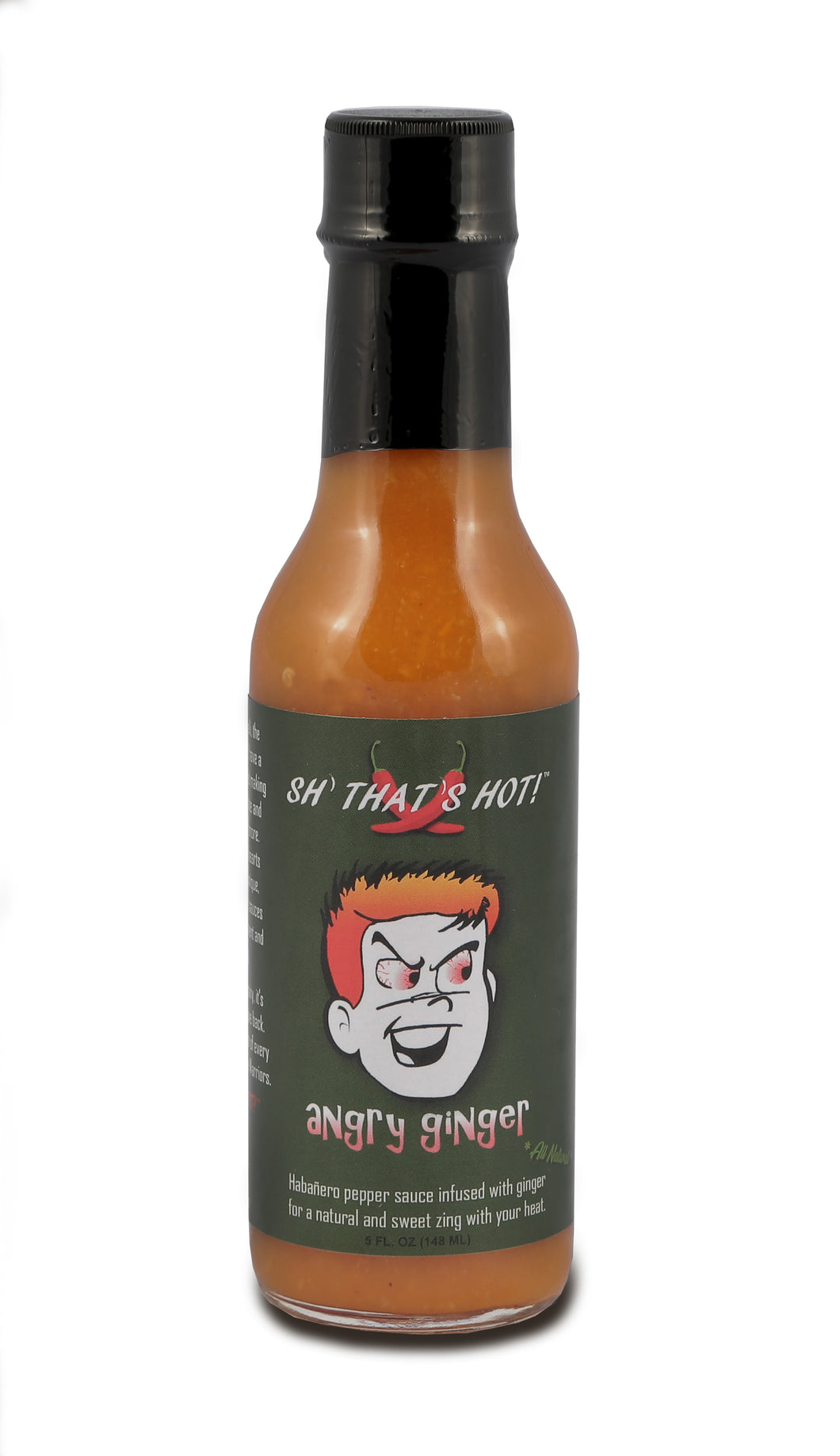 Angry Ginger hot sauce