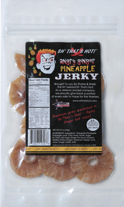 Angry Ginger Pineapple Jerky