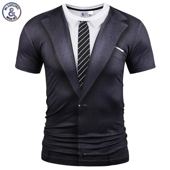 Funny 2-piece suit T-shirt