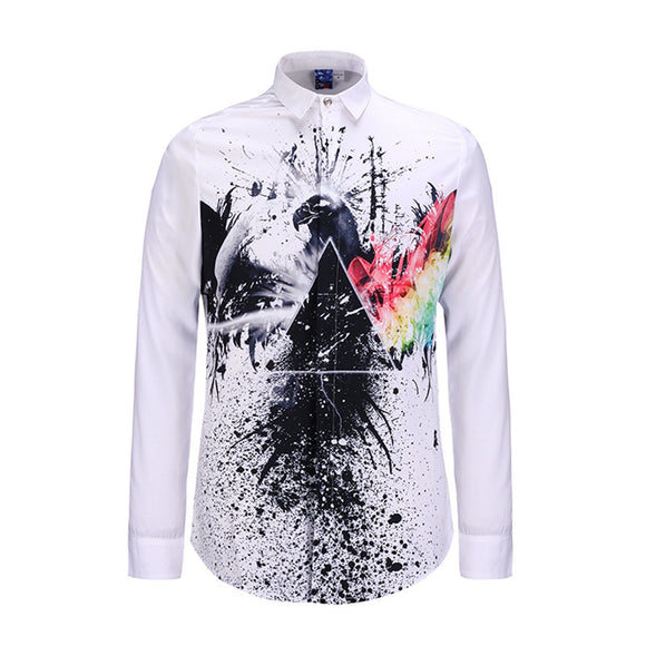 Colourful Artwork Shirt
