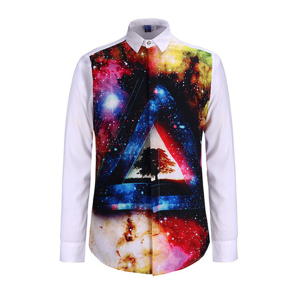 Mens Space Illuminati Shirt