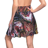 selfportrait tempe town lake Women's Skater Skirt