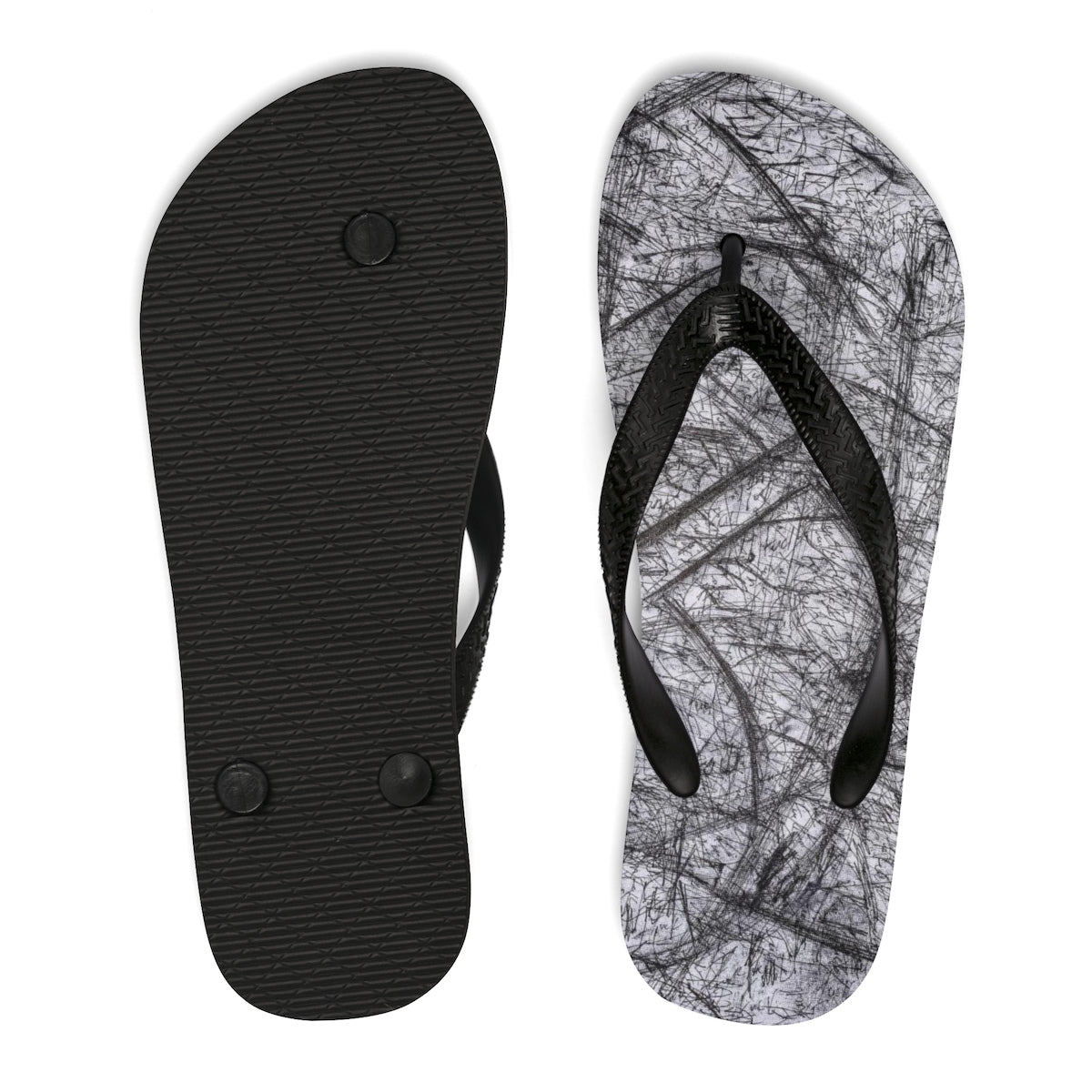 1,000 fucks to give Unisex Flip-Flops