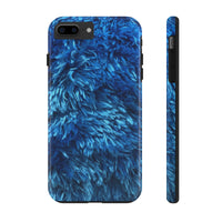 Blue fuzz monster Case Mate Tough Phone Cases