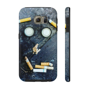 Smokers dilemma Case Mate Tough Phone Cases