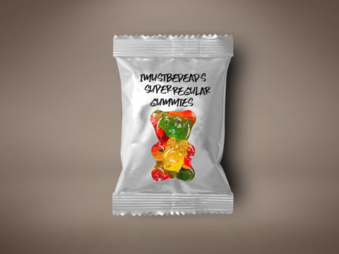imustbedead's super regular gummies