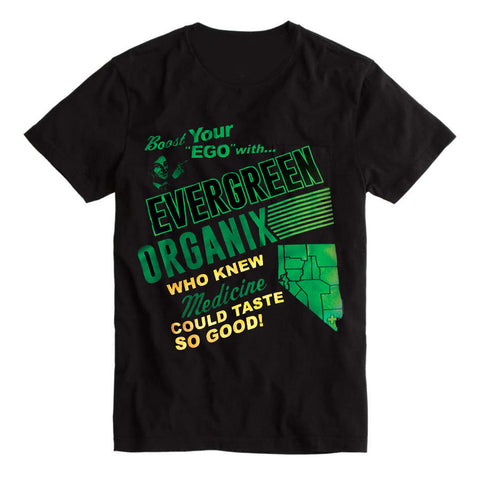Evergreen Organix Feed Your Ego Unisex Tee