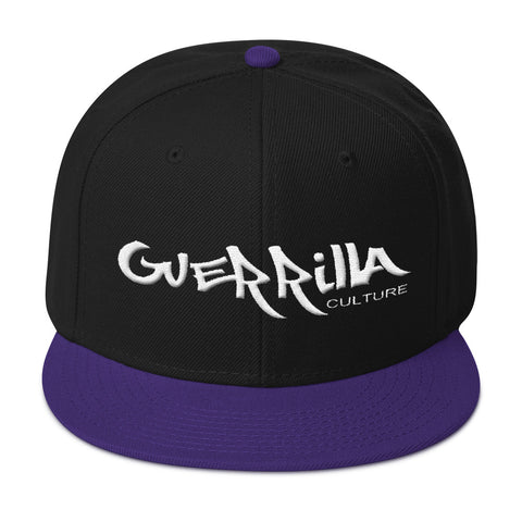 GC  flat embroidery Snapback Hat