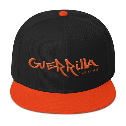 GC  flat embroidery Orange Giants Snapback Hat