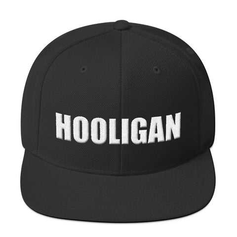 Hooligan 3D puff embroidery Snapback Hat