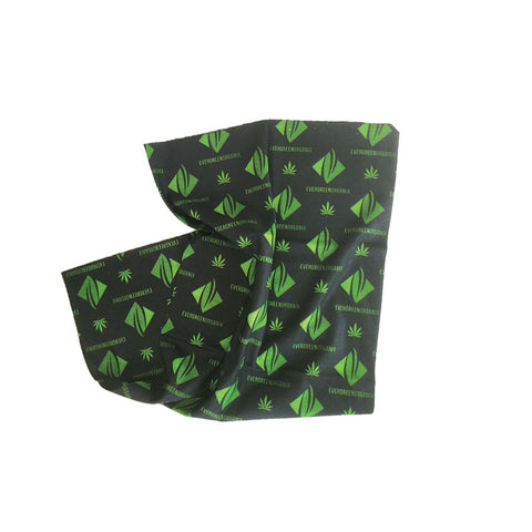 Evergreen Organix Logo Headwrap